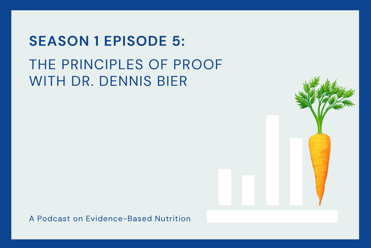 Season 1 Episode 5: The Principles of Proof with Dr. Dennis Bier