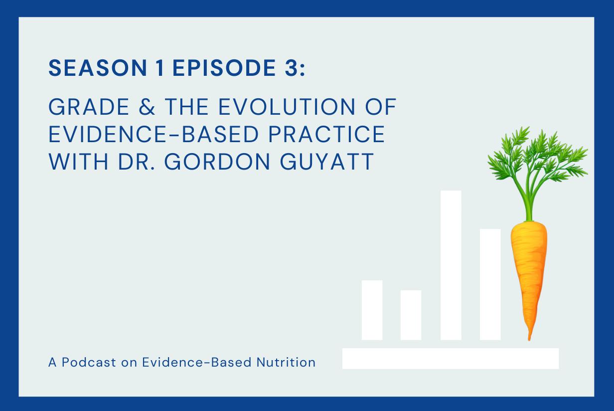 Season 1 Episode 3: GRADE & the Evolution of Evidence-Based Practice with Dr. Gordon Guyatt.